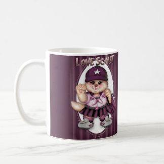 SCOUT CAT GIRL CUTE FUN Classic Mug 11 onz