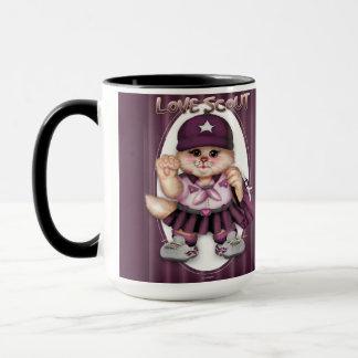 SCOUT CAT GIRL CUTE FUN Combo Mug