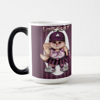 SCOUT CAT GIRL CUTE FUN Morphing Mug