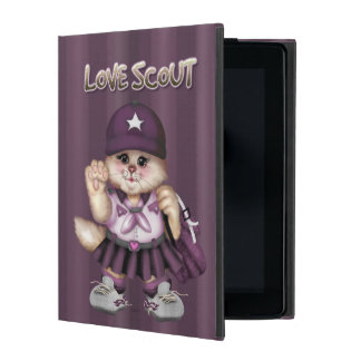 SCOUT CAT GIRL  CUTE iPad Mini iPad Covers