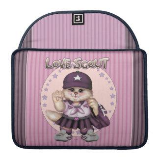 "SCOUT CAT GIRL CUTE Macbook Pro 13"" Sleeve For MacBooks"