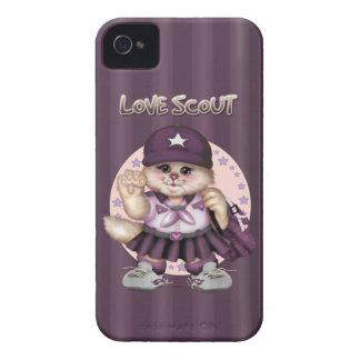 SCOUT CAT GIRL iPhone iPhone 4 Case-Mate iPhone 4 Case