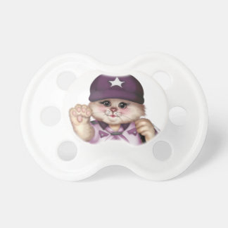 SCOUT CAT GIRL LOVE BooginHead® Custom Pacifier
