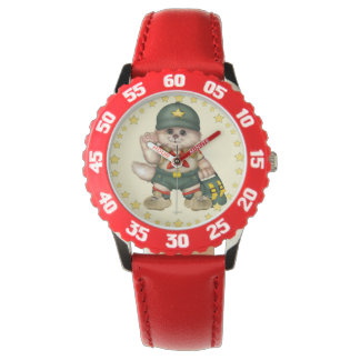 SCOUT CAT Kid's Adjustable Bezel Stainless Steel R Watches