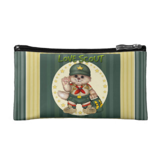 SCOUT CAT Small Cosmetic Bag
