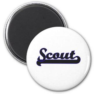 Scout Classic Job Design 2 Inch Round Magnet