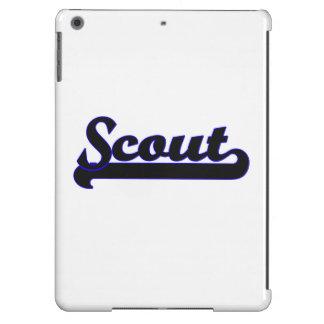 Scout Classic Job Design iPad Air Covers