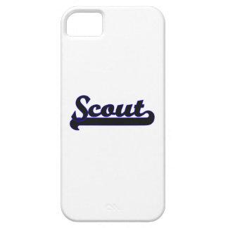 Scout Classic Job Design iPhone 5 Case