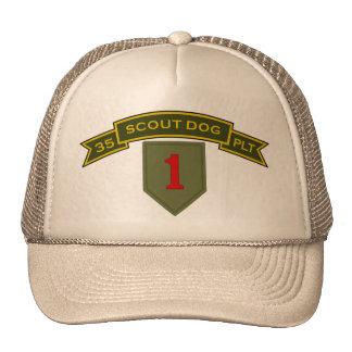 Scout Dog Platoons Mesh Hat