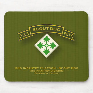 Scout Dog Platoons Mouse Pad