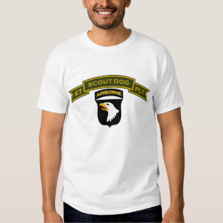 Scout Dog Platoons T Shirt
