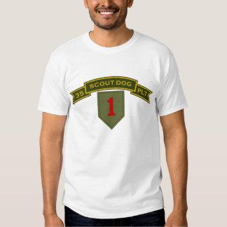 Scout Dog Platoons T-shirts