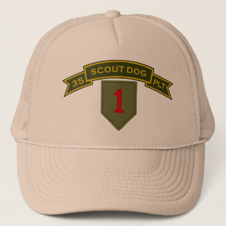 Scout Dog Platoons Trucker Hat