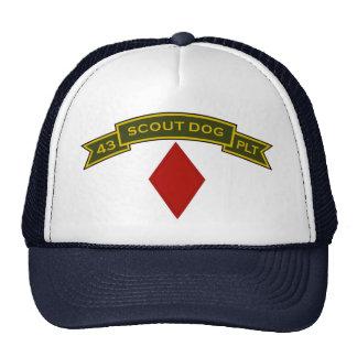Scout Dog Platoons Trucker Hat