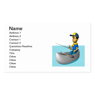 Scout Fishing 2 Double-Sided Standard Business Cards (Pack Of 100)