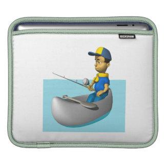 Scout Fishing 2 iPad Sleeve