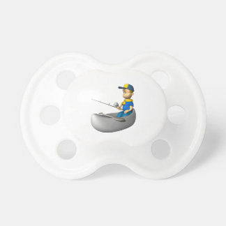 Scout Fishing Baby Pacifier