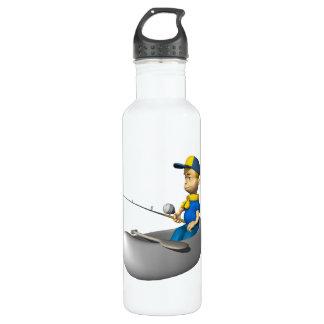Scout Fishing 24oz Water Bottle