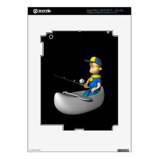 Scout Fishing iPad 3 Skin