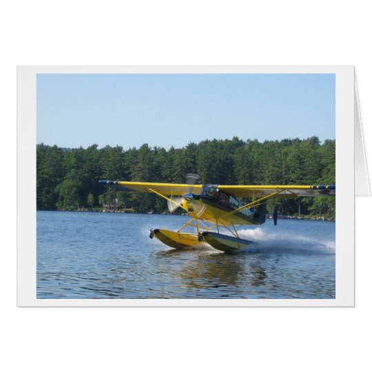 Scout Floatplane on Panther Pond, Maine Card