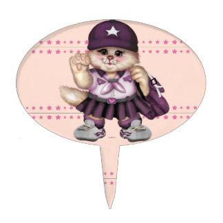 SCOUT GIRL CARTOON OVAL Cakepick