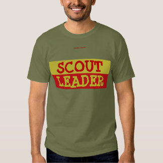 SCOUT LEADER TEE SHIRT
