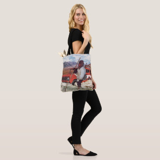Scout Leads the Way Tote Bag