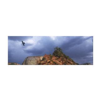 Scout Lookout Zion National Park-Utah Canvas Print