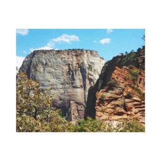 Scout Lookout Zion National Park Utah Canvas Print