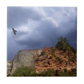 Scout Lookout Zion National Park-Utah Ceramic Tile