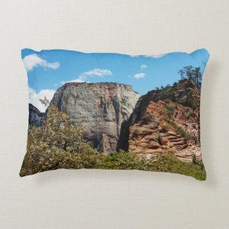 Scout Lookout Zion National Park Utah Decorative Pillow