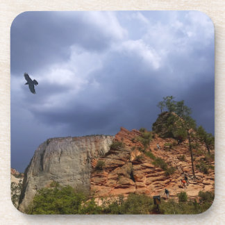 Scout Lookout Zion National Park Utah Drink Coaster