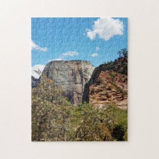 Scout Lookout Zion National Park Utah Jigsaw Puzzle