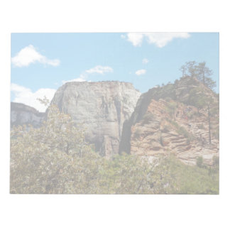 Scout Lookout Zion National Park Utah Notepad