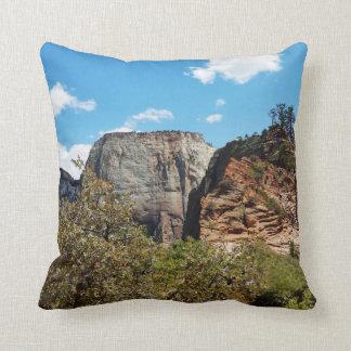 Scout Lookout Zion National Park Utah Pillow