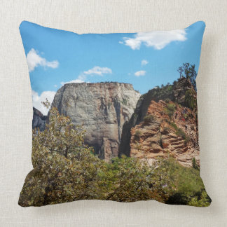 Scout Lookout Zion National Park Utah Throw Pillow