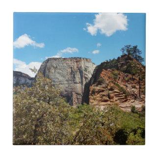 Scout Lookout Zion National Park Utah Tile