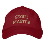 SCOUT MASTER hat