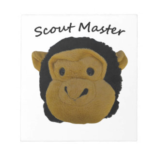 Scout Master Notepad