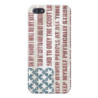 Scout Oath Cell Phone Case Case For iPhone 5