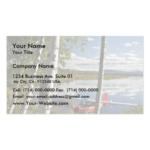 Scout on Kanuti Lake Double-Sided Standard Business Cards (Pack Of 100)