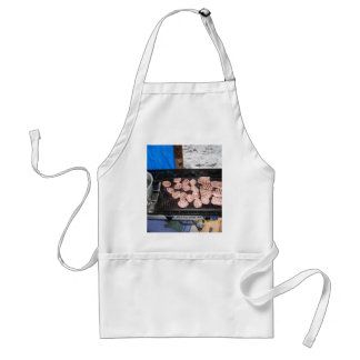 scout style adult apron