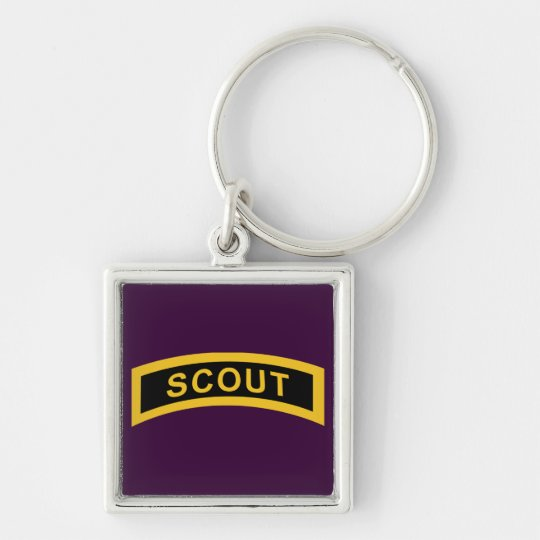 Scout Tab Keychain