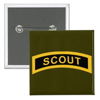 Scout Tab Pinback Button