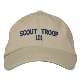 Scout Troop CAP Embroidered Baseball Cap