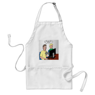 Scout Video Games Adult Apron
