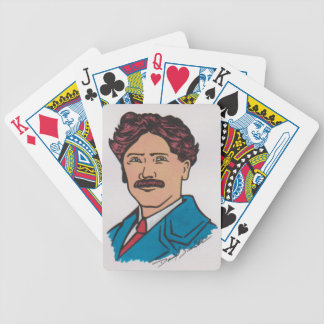 Scouting Cards Original Artwork by David Smith Bicycle Poker Deck