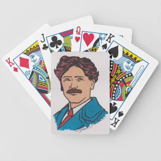 Scouting Cards Original Artwork by David Smith Bicycle Playing Cards