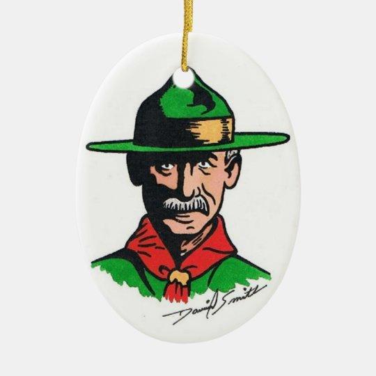 Scouting Centennial Art by David Smith Ornament 02