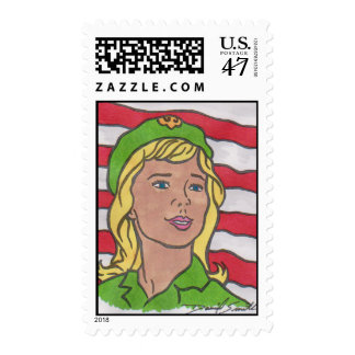 SCOUTING CENTENNIAL ART by David Smith STAMP 01